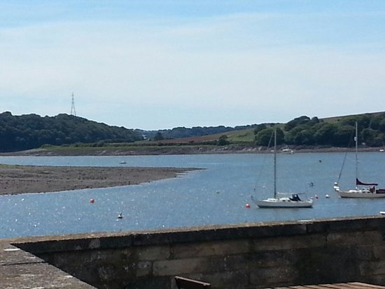 Quayside Lawrenny Tearoom: View from the tearoom