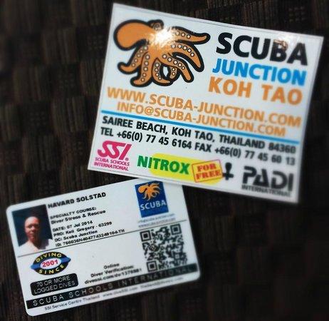 Scuba Junction Diving Co. Ltd: PADI / SSI - same same but different :)