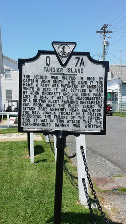 Tangier Island: History of Tangier