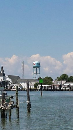 Tangier Island: View of town