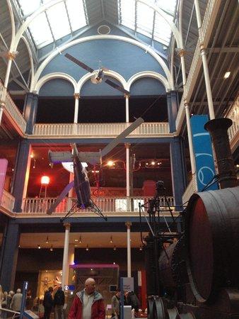 Museo Nacional de Escocia: Many floors to explore