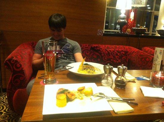 Radisson Blu Latvija Conference & Spa Hotel: Dinner