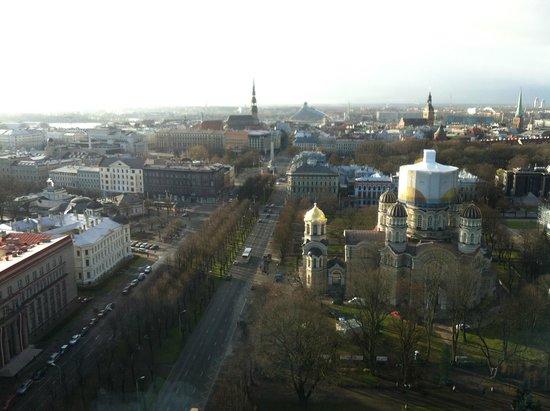 Radisson Blu Latvija Conference & Spa Hotel: View