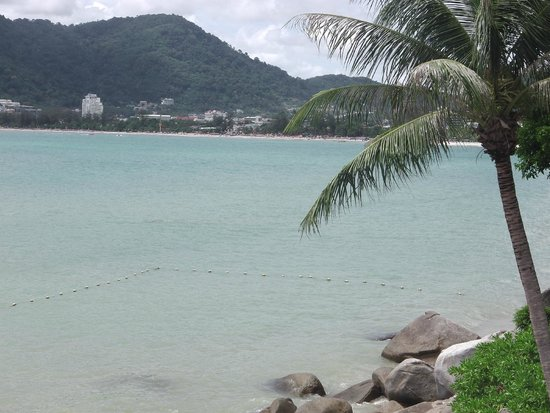 Amari Phuket: View from room looking over Patong beach.