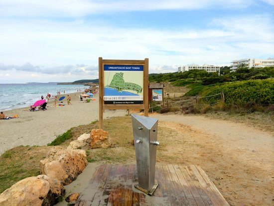 Hotel Santo Tomas: spiaggia san tomas