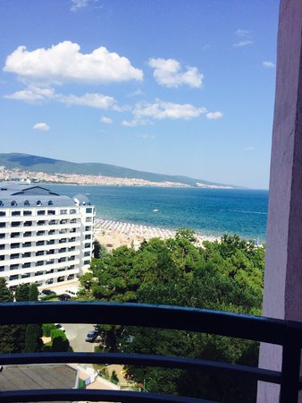 Grand Hotel Sunny Beach: Our view ��