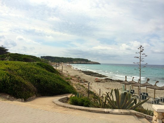 Hotel Santo Tomas: spiaggia vista hotel