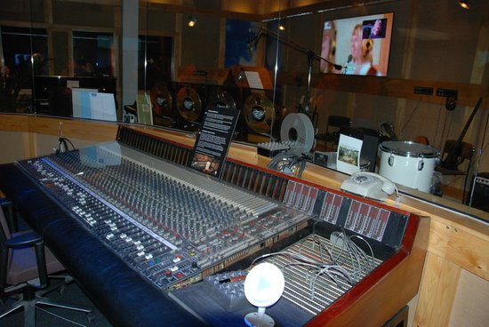 ABBA The Museum : The mixing table