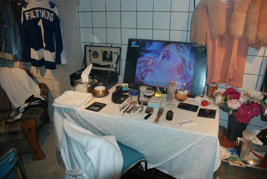 ABBA The Museum : Agnetha´s make-up