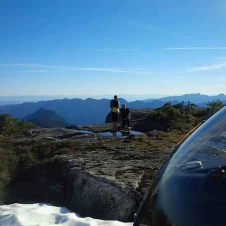 Vancouver Helicopter Tours - BC Helicopters : The moment captured by CJ - She said yes!