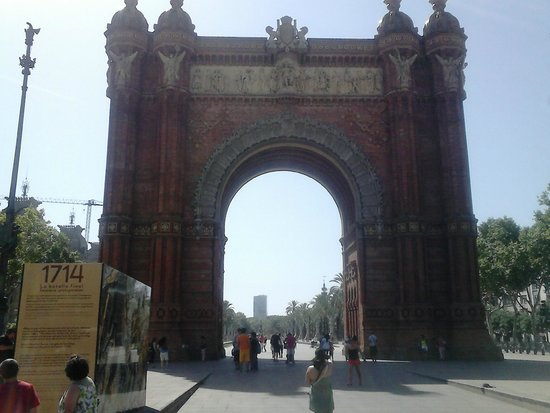 Arc de Triomf : Arco de triomf