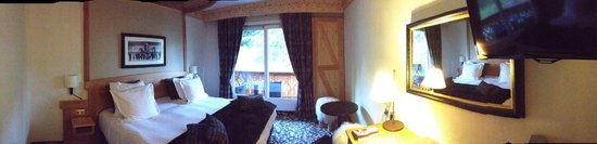 Hotel Chalet Mounier : Room#020 panoramic view