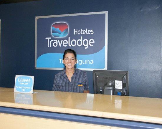 Travelodge Torrelaguna Madrid: Reception