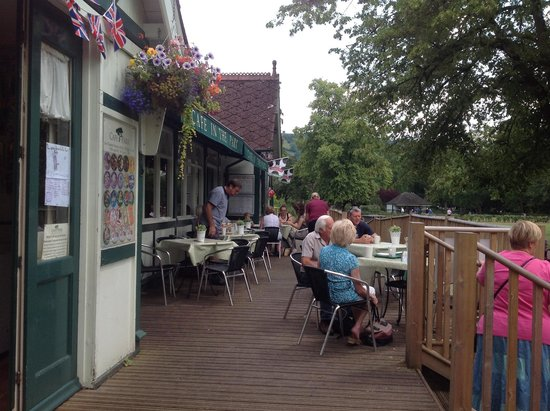 Cafe in the Park : Veranda