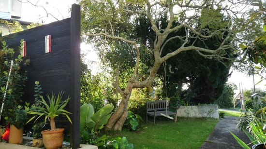 Kiwi Heritage Home Stay : Front Garden