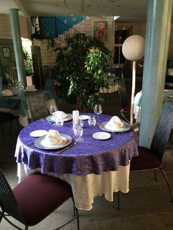 Hotel Parenthese: Notre table