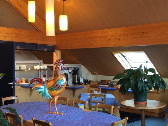 Hotel Parenthese : Salle du petit déjeuner