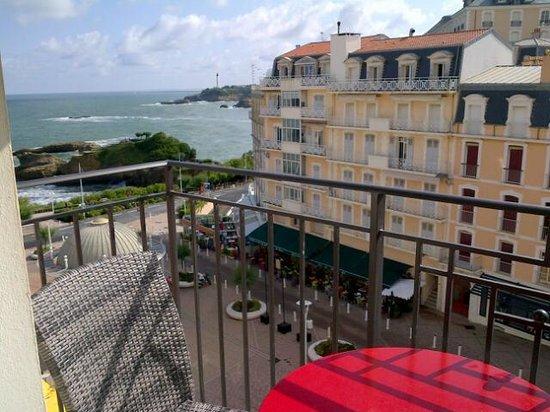 Hotel Florida Biarritz: BALCON