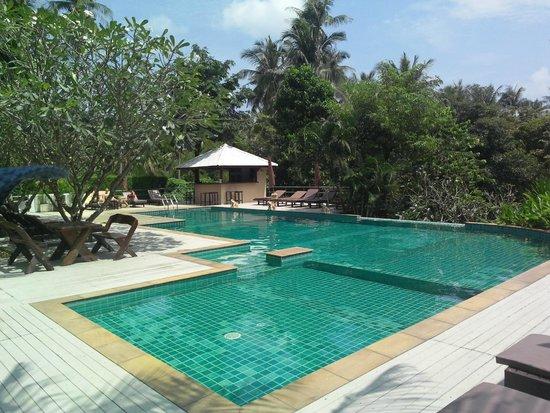 Lamai Buri Resort: Очень чистый бассейн, где всегда спокойно и тихо.