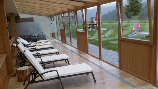 Hotel Brunelle: area relax
