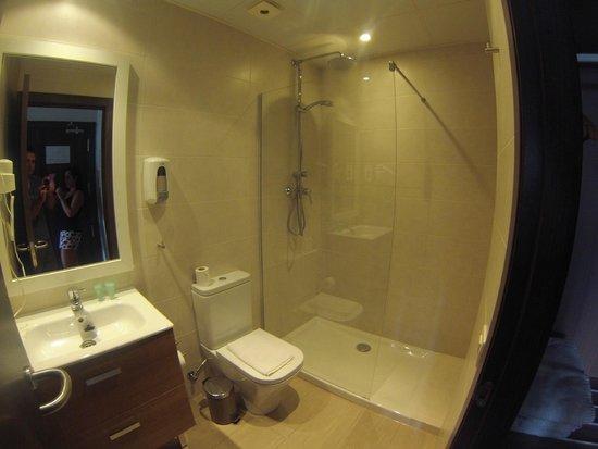 Hostal Centric: salle de bain