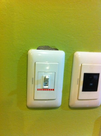 Lullaby Inn: Light switch