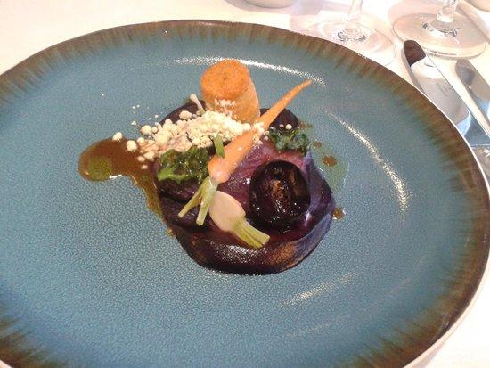 Restaurant at Cannizaro House: One of many wonderful dishes