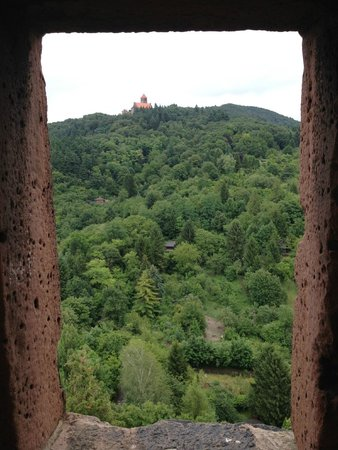 Windeck Castle: View on the Wachenburg
