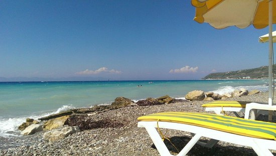 Oceanis Hotel: Пляж