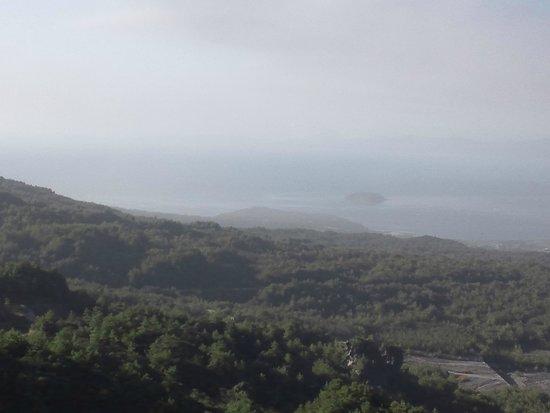 Yunohira Lookout : 桜島湾眺望1