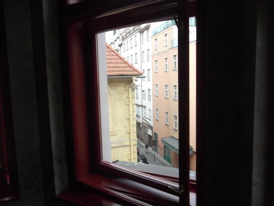 Buddha-Bar Hotel Prague: View from room