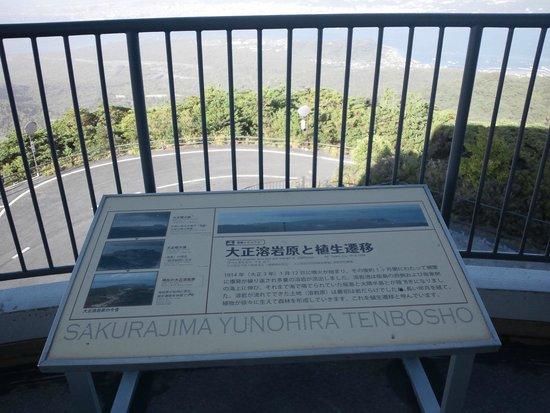 Yunohira Lookout : 桜島湾眺望4