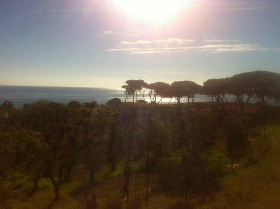 São Rafael Atlântico : View of the coast from the grounds