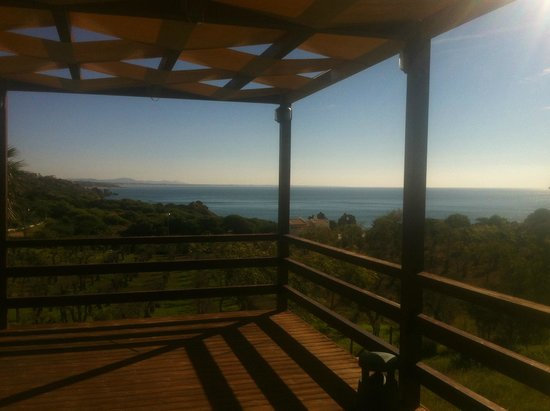 São Rafael Atlântico: The View from the Private Function Room towards the Sea