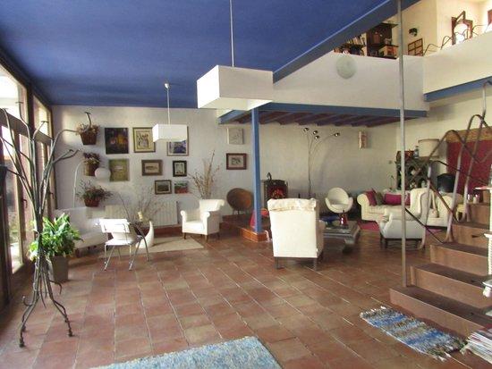 Casa Rural Santa Ana: Salón