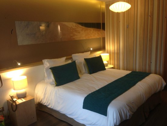 Hôtel Le B d'Arcachon : Lit double