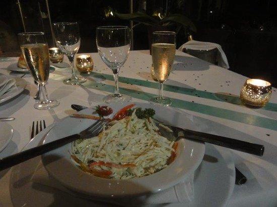LUX* Saint Gilles: Salade de palmiste frais (il faut déguster pour comprendre)