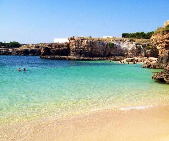 Masseria Bianca di Puglia: Splendido mare
