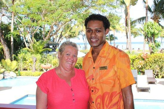 Bedarra Beach Inn: Tracey and Jonathon
