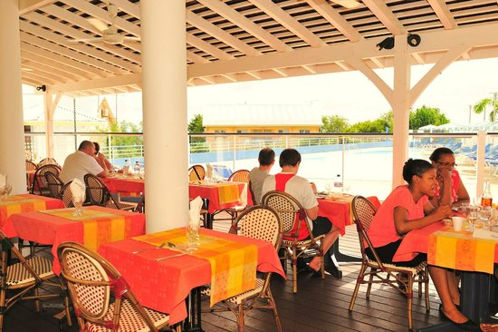 Karibea Resort Sainte Luce Amyris : Restaurant du Karibea Resort Sainte Luce hôtel Amyris