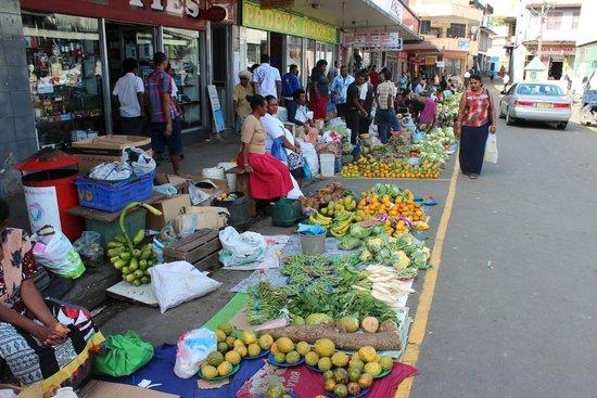 Bedarra Beach Inn: Market Day at Sigatoka