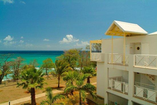 Karibea Resort Sainte Luce Amyris : Vue sur la mer du Karibea Resort Sainte Luce hôtel Amyris
