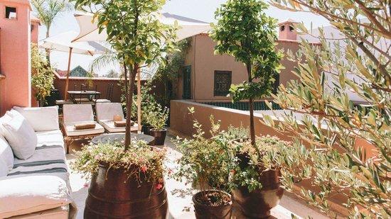 Riad Dar Zaman : Sun terrace