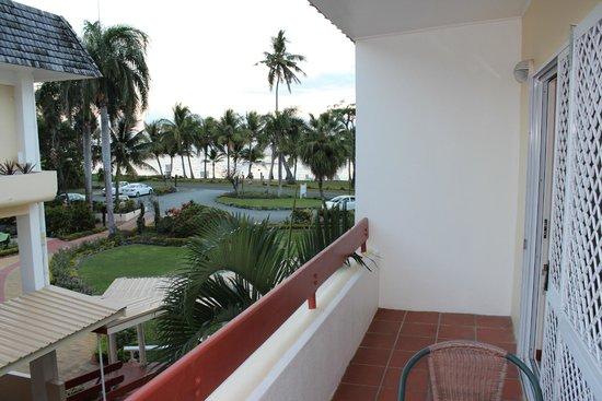 Bedarra Beach Inn: view from our room