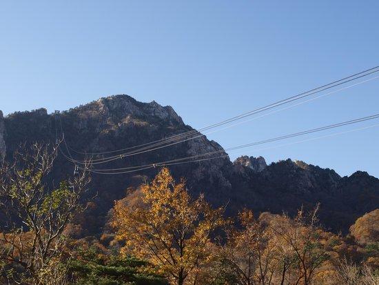 Seoraksan National Park: cable car