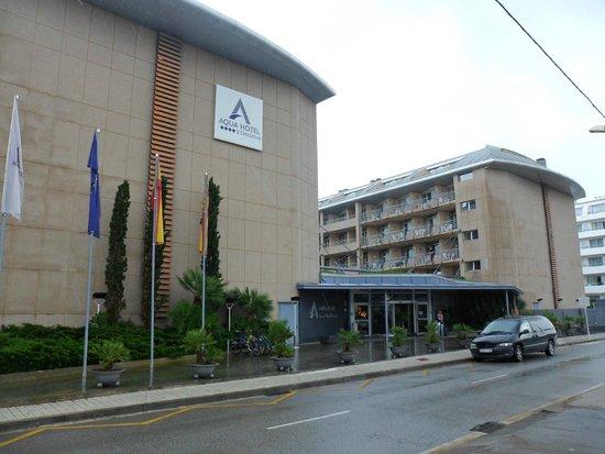Aqua Hotel Onabrava & Spa : vue arrière