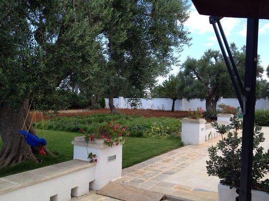 Masseria Bianca di Puglia: L'orto a disposizione dei fortunati ospiti