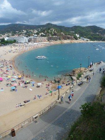 Aqua Hotel Onabrava & Spa : Tossa la plage