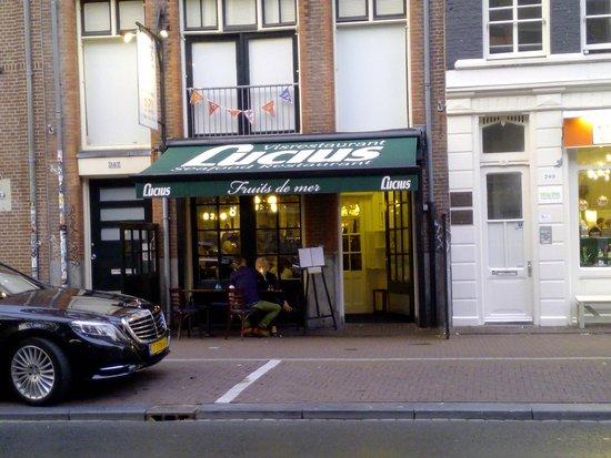Lucius Seafood Restaurant: L'entrata