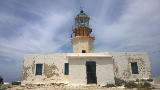Armenistis Lighthouse: the old light house